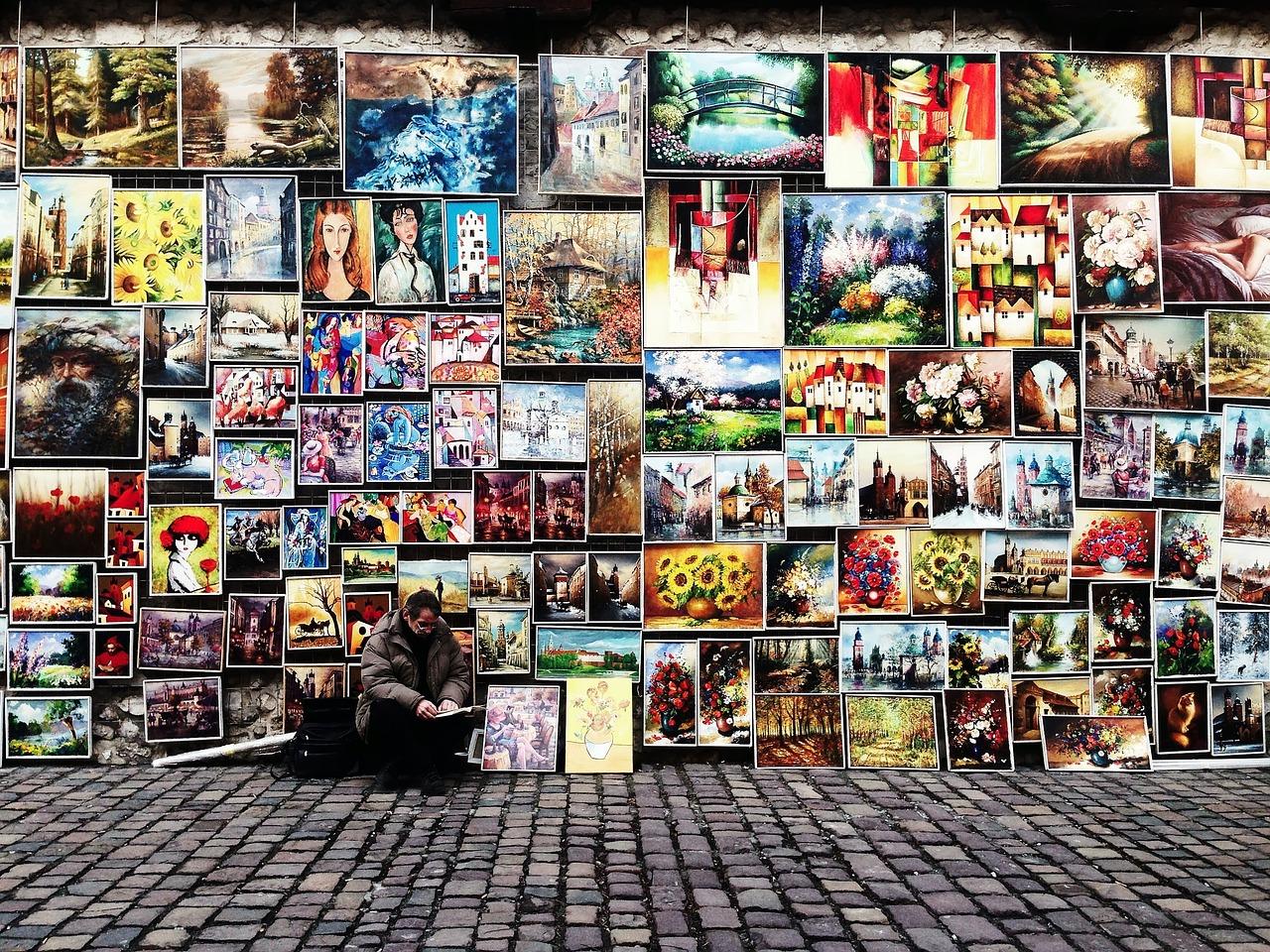 Köp tavlor, oljemålningar, canvastryck, fototapeter, prints, posters eller egna motiv.