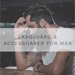 Här hittar du 4 Onlinebutiker för Män som säljer produkter inom Grooming, Skäggvård och Accessoarer för Män!