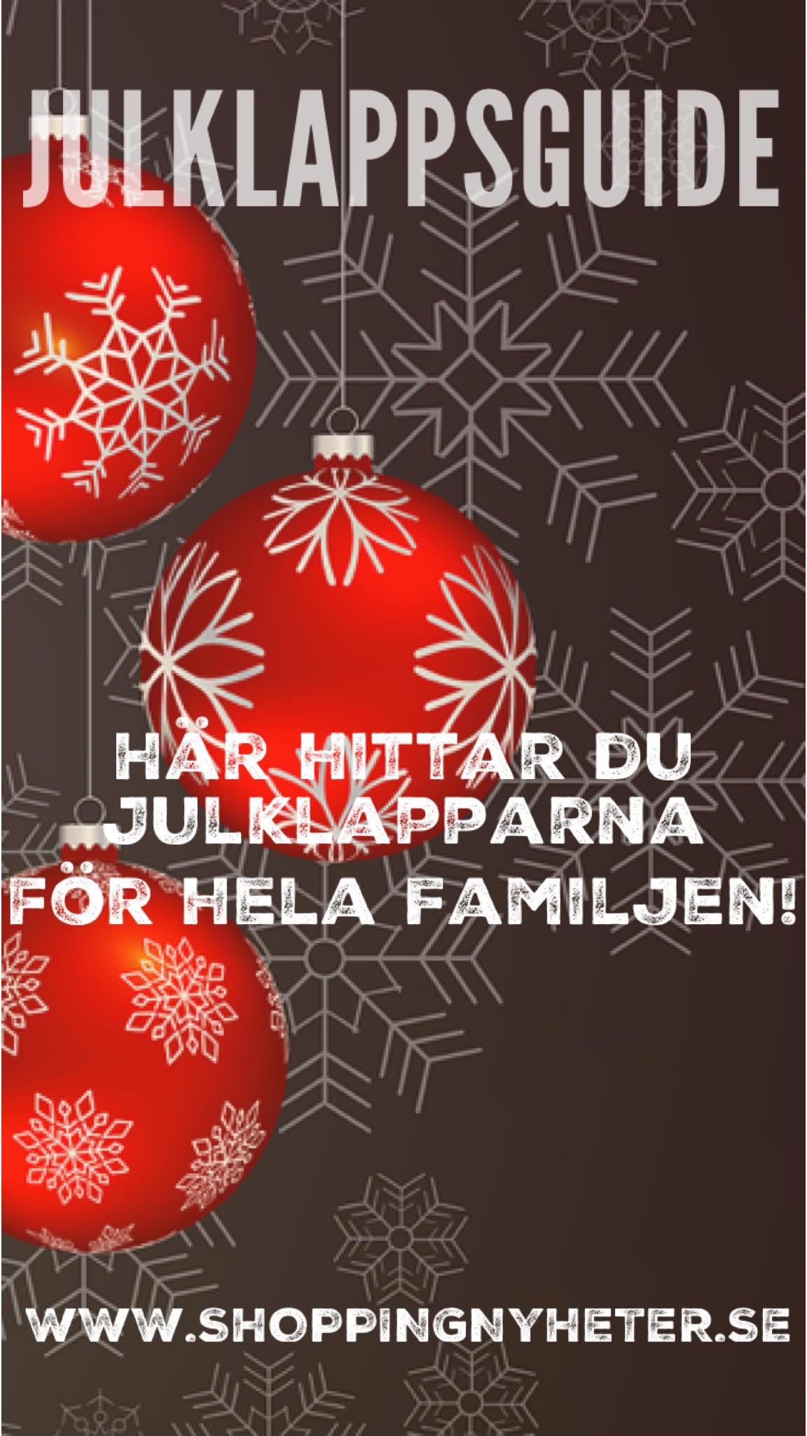 Söker du efter Julklappstips? Här hittar du alla julklappar, tips på presenter - på ett och samma ställe!